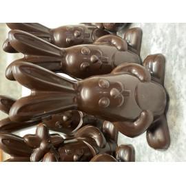 Húsvéti paleo csokoládé nyuszi, cukormentes